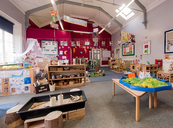 The Focal Point Of Our Nursery Is A Large Atrium Area Which We Use As An Indoor Outdoor E Children Love Exploring Diffe Floor Levels And