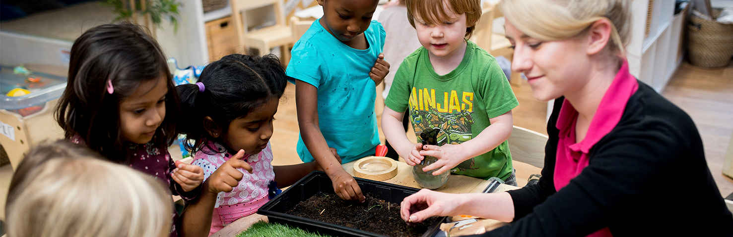 Fun food growing activities to try at home | Little Pioneers